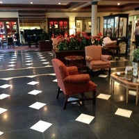 Photo taken at The Menger Hotel by Mary J. on 10/6/2012