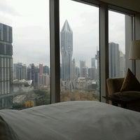 Photo taken at Le Royal Méridien Shanghai   上海世茂皇家艾美酒店 by Laura T. on 12/2/2012