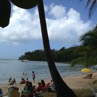 Photo taken at Isla Grande Colon by Ayelet on 1/12/2013