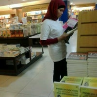 Photo taken at Gramedia by Ayu Y. on 10/13/2012