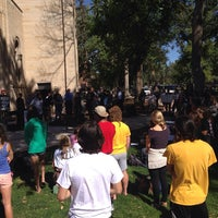 Photo taken at Shove Chapel by Justin B. on 10/5/2014