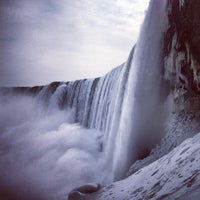 Photo taken at Niagara Falls (Canadian Side) by Alexander Z. on 2/14/2013