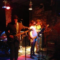 Photo taken at The Bowery Electric by Aparna M. on 4/10/2013