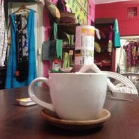 Photo taken at Open Hand Café & Shop by Rad on 5/13/2015
