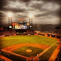 Photo taken at AT&T Park by Adam F. on 7/6/2013