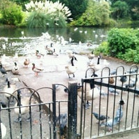 Photo taken at Ravenscourt Park by Kamila P. on 10/26/2012
