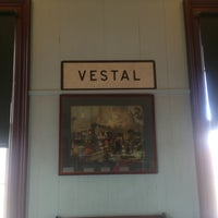 Photo taken at Vestal Museum by Mark on 8/3/2013