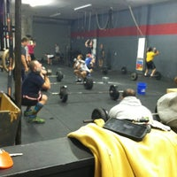 Photo taken at CrossFit Lewes by Austin on 11/5/2012