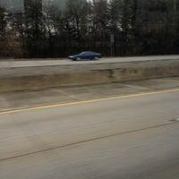 Photo taken at Interstate 85 by Christye on 2/23/2013