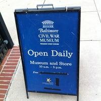 Photo taken at Baltimore Civil War Museum at President Street Station by Da Z. on 8/13/2013