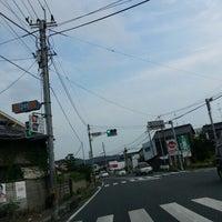 Photo taken at 板倉 交差点 by 世界のGORO on 8/6/2014