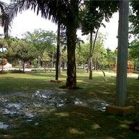 Photo taken at Taman Menteng by Yugo P. on 9/27/2012