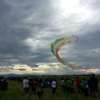 "Photo taken at Aeroporto di Parma ""Giuseppe Verdi"" (PMF) by Fede on 6/9/2013"