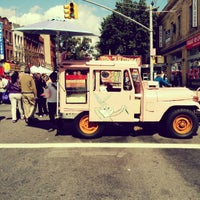 Photo taken at 3rd Ave Feast - Bay Ridge, Brooklyn by Malika on 9/30/2012