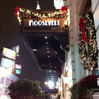 Photo taken at The Roosevelt New Orleans by Holly on 12/11/2012