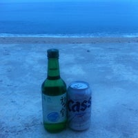 Photo taken at 해변 산책길 by SoYoung C. on 8/9/2013