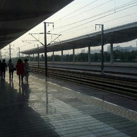 Photo taken at 苏州园区火车站 | Suzhou Industrial Park Railway Stn. by kent on 10/18/2012