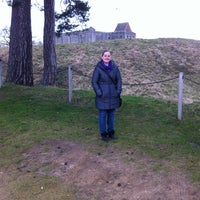 Photo taken at Castle Rising Castle by Wayne H. on 3/3/2013