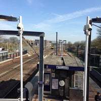 Photo taken at Alexandra Palace Railway Station (AAP) by Doni J. on 4/23/2013