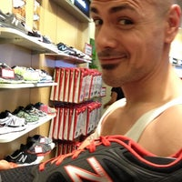 Photo taken at New Balance by Angel R. on 12/22/2012