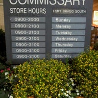 Photo taken at Fort Bragg South Commissary by Zenilda D. on 9/27/2012