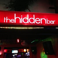 Photo taken at The Hidden Bar by Jorge D. on 4/11/2013