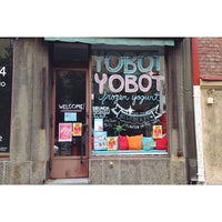 Photo taken at Yobot Frozen Yogurt by konstantin z. on 6/12/2014