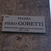 Photo taken at Piazza Gobetti by Andrea R. on 2/15/2013