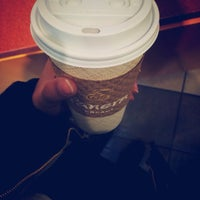 Photo taken at Panera Bread by Jumanah A. on 3/8/2014