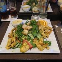Photo taken at Brasserie St-Jean by Kelly S. on 5/28/2013