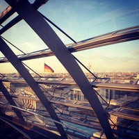 Photo taken at Reichstag by Clara N. on 5/4/2013