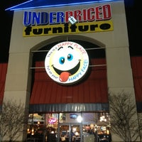 Photo taken at Underpriced Furniture by Debra S. on 2/24/2013