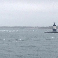 Photo taken at On the Cross Sound Ferry: Orient - New London by Tom L. on 5/16/2014