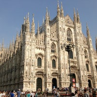 Photo taken at Piazza del Duomo by Linda on 7/13/2013