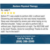 Photo taken at Restore Physical Therapy by Restore Physical Therapy on 12/22/2016