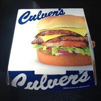 Photo taken at Culver's by Gunter on 10/18/2013