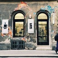 Photo taken at Printa Café by Ceren T. on 3/14/2015