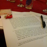 Photo taken at Paradiso Hotel Ballroom by Gianyta A. on 6/17/2014