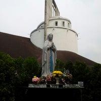 Photo taken at Gereja Katolik Santo Andreas by Liu W. on 10/28/2012