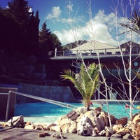 Photo taken at Ròseo Hotel Euroterme by Beatrice B. on 8/28/2013