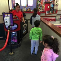 Photo taken at Chuck E. Cheese's by Bobby B. on 3/22/2016