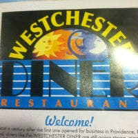 Photo taken at Westchester Diner by Ashley S. on 10/11/2012