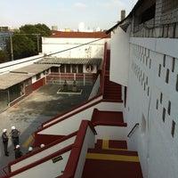 Photo taken at Estádio Conde Rodolfo Crespi by Enrico L. on 4/8/2012