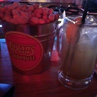 Photo taken at Logan's Roadhouse by Stephanie M. on 3/16/2012