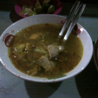 Photo taken at Soto Daging & Soto Ayam by Marco T. on 3/12/2014