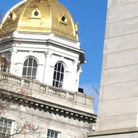 Photo taken at New Hampshire State House by Maureen on 11/5/2012