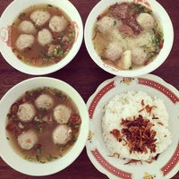 Photo taken at Bakso Mas Kumis by Migs C. on 10/23/2015