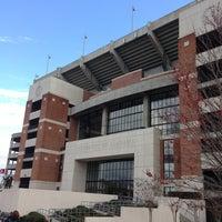 Photo taken at Bryant-Denny Stadium by Jason L. on 3/11/2013