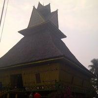 Photo taken at Anjungan Sumatera Utara by Egia S. on 10/5/2013