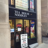 Photo taken at Tea House Noodles by Ed R. on 7/12/2013